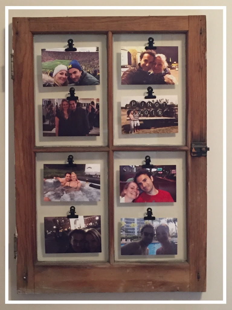 DIY Picture Frame Window